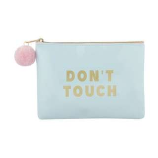 Pencil box: DON'T TOUCH