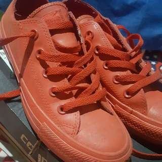 Converse CTAS OX Red Ori