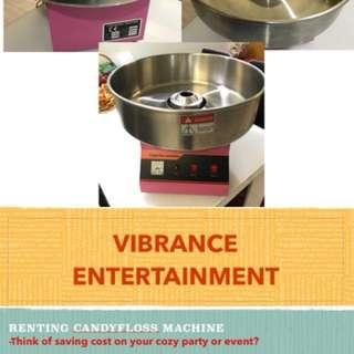 CandyFloss Machine rental