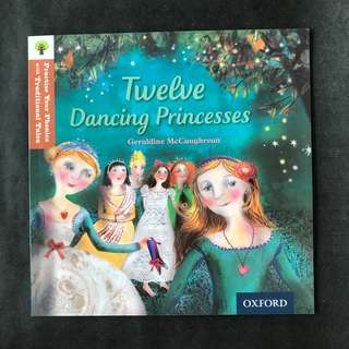 💥NEW- Oxford Practice Your Phonics with Traditional Tales - Twelve Dancing Princesses   (Level 8)  - Children Storybooks
