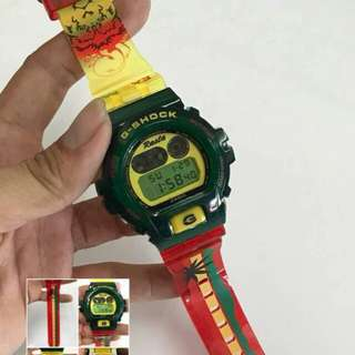 G-SHOCK DW6900 RASTA LIMITED EDITION
