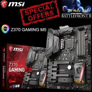 MSI Z370 GAMING M5. ( Special Offer )