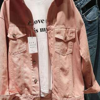 Zara Jacket Oversized Pink