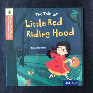 💥NEW- Oxford Practice Your Phonics with Traditional Tales - Little Red Riding Hood   (Level 8)  - Children Storybooks