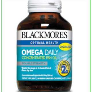 Blackmores Omega Daily - Concentrated Fish Oil - 90s