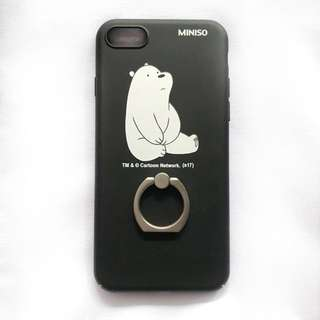 Miniso We Bare Bears Phone Case for Iphone 7