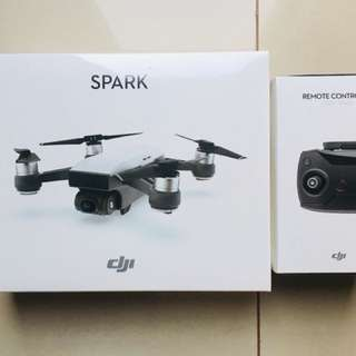 DJI Spark Drone Alpine White Fly more Combo (with DJI Spark remote)