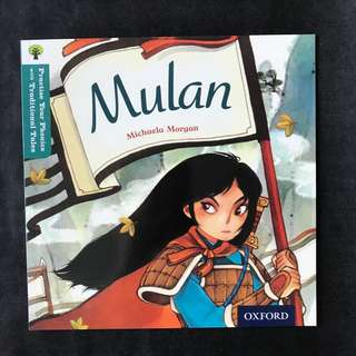 💥NEW- Oxford Practice Your Phonics with Traditional Tales - Mulan (Level 9)  - Children Storybooks