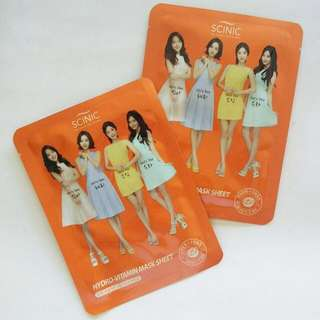 Scinic Girl's Day Hydro Vitamin Mask Sheet