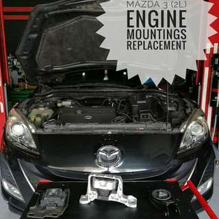Mazda_3 (2L) : Engine_Mountings Replacement