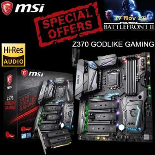 MSI Z370 GODLIKE GAMING. ( Special Offer )
