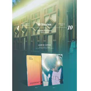 [PREORDER] 김성규 - 10 STORIES / 1집 일반판 (Normal ver.)