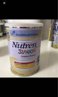 Nutren junior milk powder