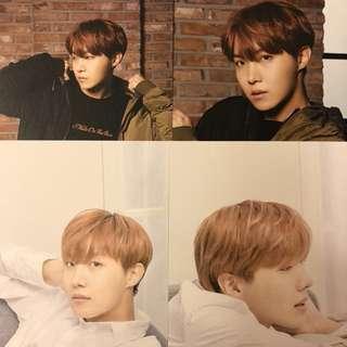 BTS 防彈少年團 Mediheal Postcard JHOPE