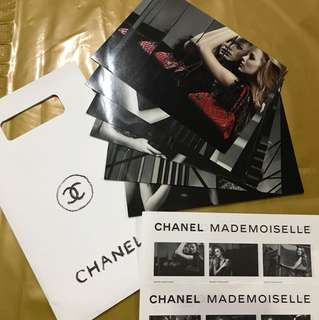 Chanel Mademoiselle PostCards