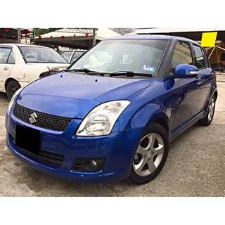 SUZUKI SWIFT 1.5 KEYLESS MODEL (AUTO) ORIGINAL MILEAGE 46K ONLY 2009 /10