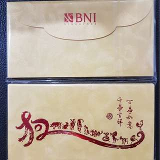 Exclusive Golden BNI ang pows (pack of 10)