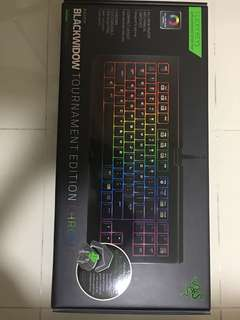 BNIB Razer blackwidow tournament edition Chroma