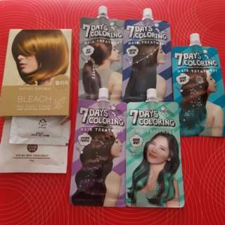 Missha 7 days colouring hair treatment