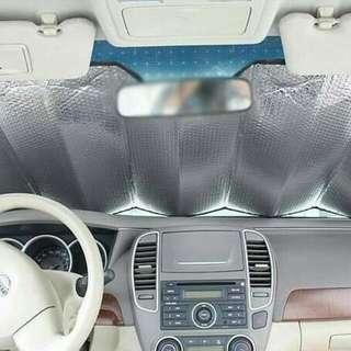 Pelindung panas kaca mobil