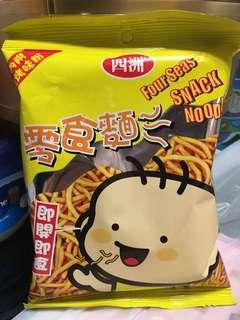 四洲零食麵(燒烤味)