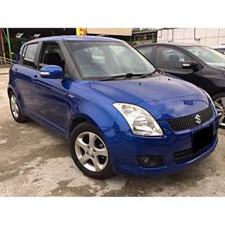 suzuki swift 1.5 keyless model (auto) ori mileage only 46km 2009/10