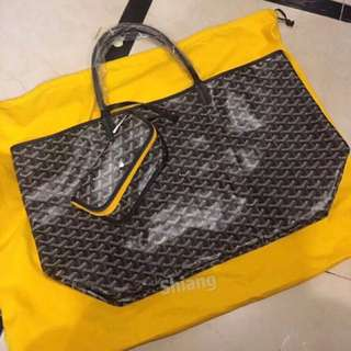 Goyard shopping bag 大號手提