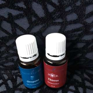 Young Living Essential Oils - Opened