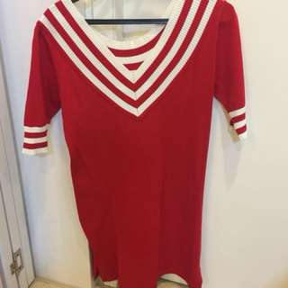Brand new - red casual dress