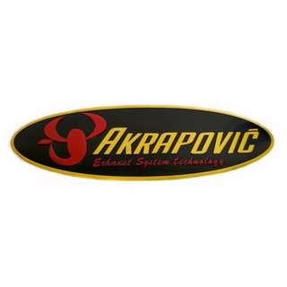 Akrapovic exhaust sticker (heat resistant)