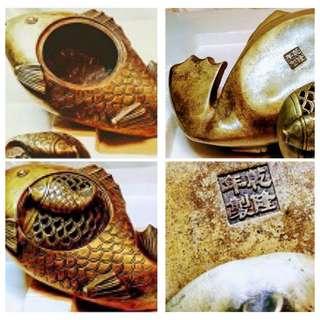 Golden Fish charcoal burner(Antique design) S$188