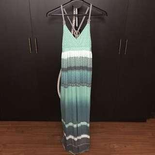 MUDD Green Maxi Dress