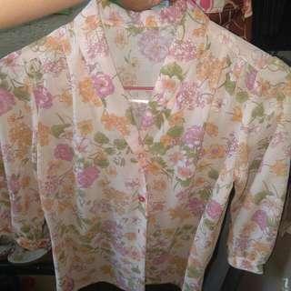 flower design blouse