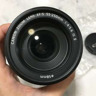 Canon EF S 55-250mm f4-5.6 IS II STM Black