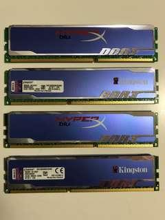 Kingston Hyperx Blu 16gb 1600mhz RAM