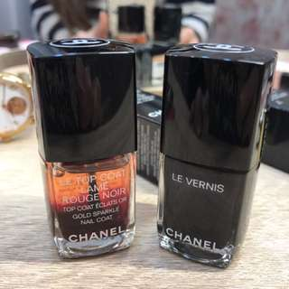 🚚 Chanel 香奈兒 閃亮 Gold Sparkle Nail Coat  TOP COAT