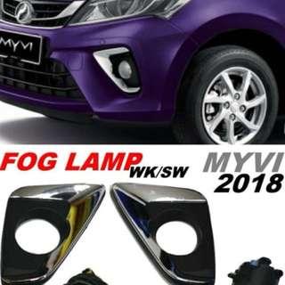 myvi 2018 fog laml