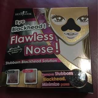Sexylook blackheads removals for flawless nose minimize pores
