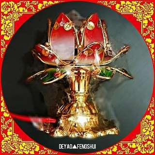 ▲BN Beautiful Lotus Flower Electric Led Lamp Lighting▲