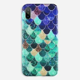 Blue Mermaid Matte Case