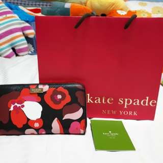 #Easter20 Authentic Kate Spade Floral Design Wallet (Free Delivery)