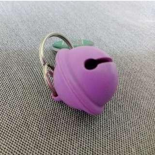 Clochette 不蚤鈴 超音波驅蚤器 犬貓狗用 紫(二手) M