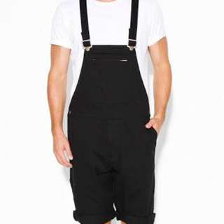 Rollas Jean Overall Shorts