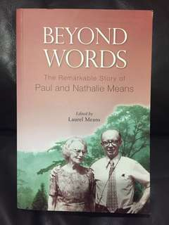 Beyond Words by Paul and Nathalie Means
