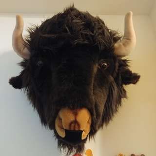 [ Buffalo 美國野牛頭 ] 掛牆裝飾