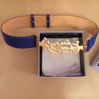 Blumarine leather belt 99% new