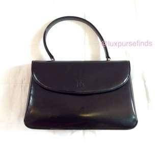 BALMAIN Vintage Leather Top Handle Bag