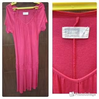 Maternity Dress from Old Navy (red)