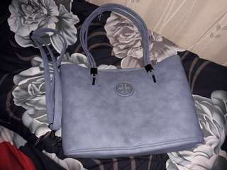 Grey hand bags Tory Burch