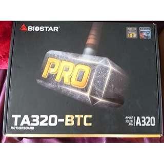 Biostar TA320-BTC Mining MotherBoard Mainboard